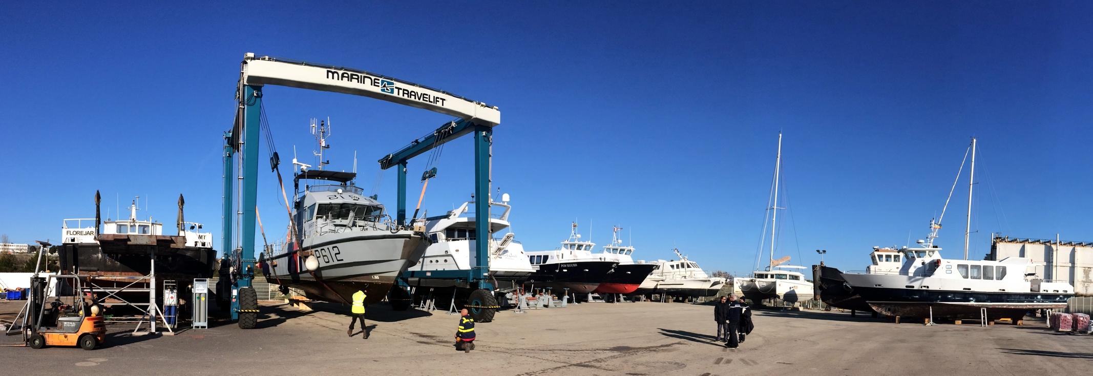 Hivernage, stationnement à sec et à flot de votre navire à Marseille – Port de Bouc