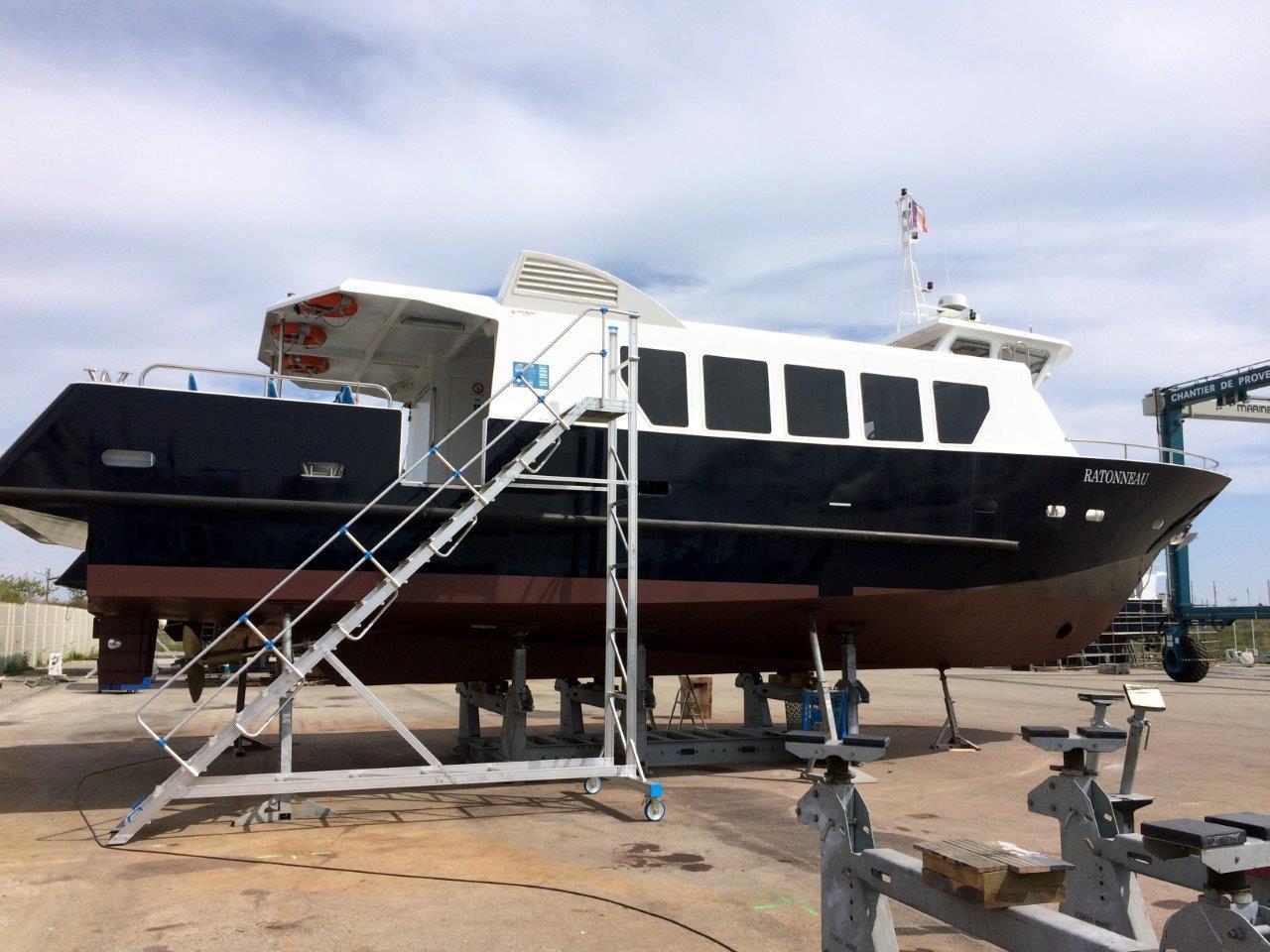Rénovation bateau | Port de bouc