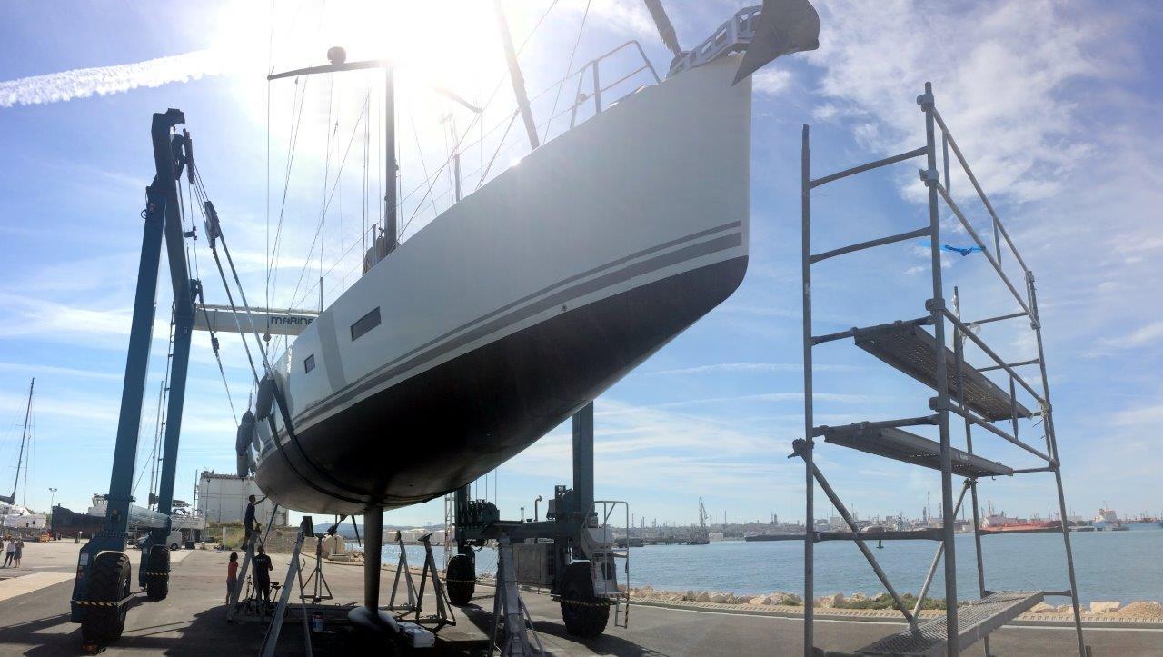Carénage bateau | Chantier Naval de Provence